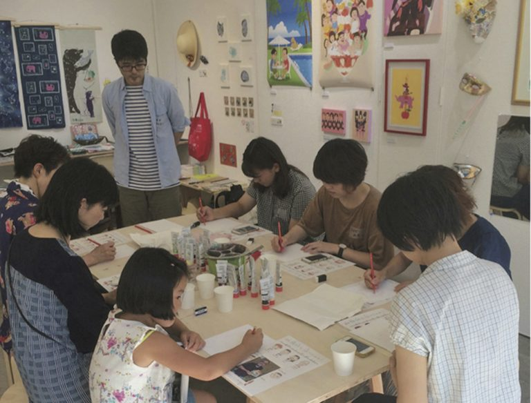 "<span class=""title"">ヨロコビto Gallery Cafe Artcard</span>"