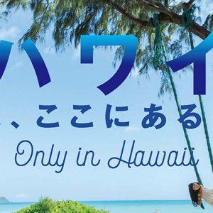 みんなの永遠の楽園!『ハワイ、いまここにあるもの。』特集本日発売。
