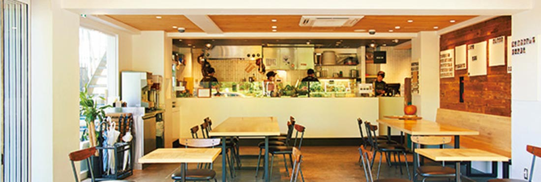 CRISP SALAD WORKS 恵比寿店