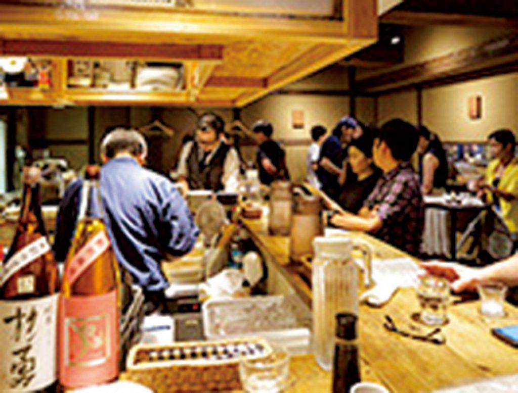 三軒茶屋 日本酒専門店 采