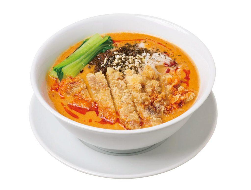 排骨担々麺 1080円(税込)