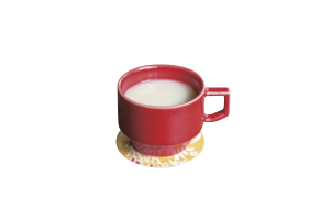 米麹で作った「甘酒」(600円)