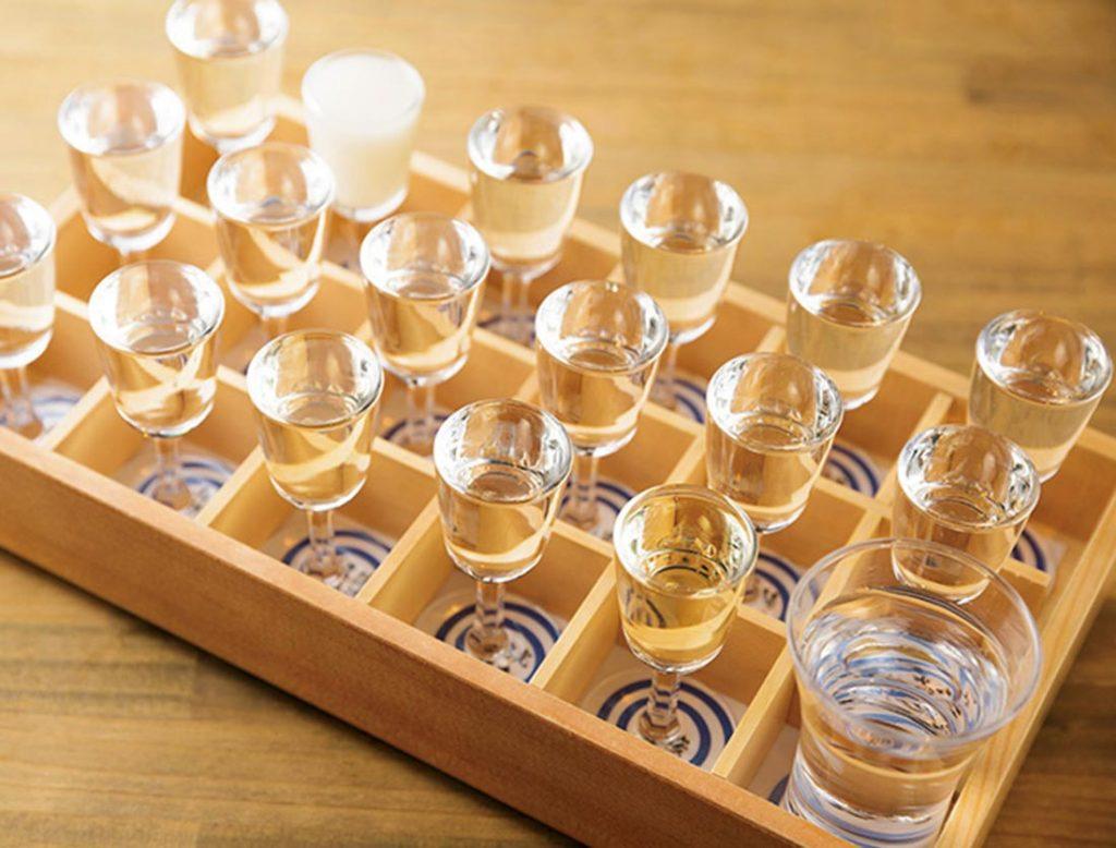 「十七蔵の利き酒セット粋酔」 1,700円