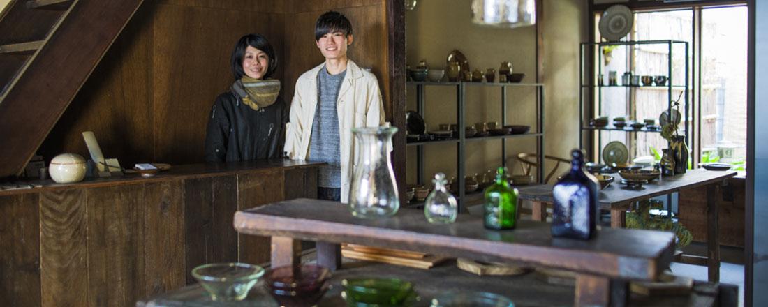 レトロモダンな京都で出会う、センスの光るうつわと雑貨