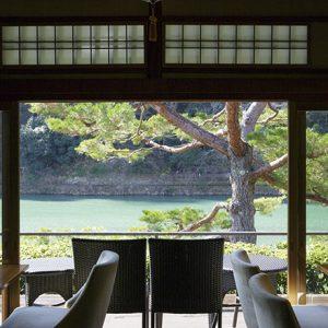 〈茶寮八翠〉でラグジュアリーに楽しむ、保津川〜桂川の自然美