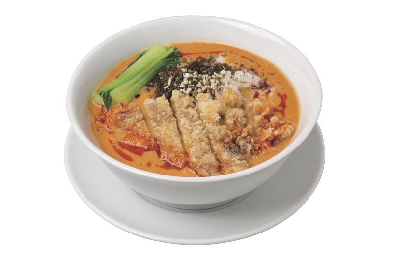 「排骨担担麺 」(1,080円)(税込)