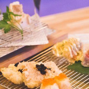 「ブルーチーズと梨」?!お洒落で斬新な創作系もたくさん!恵比寿でカジュアルに天ぷらが楽しめるバル3軒。