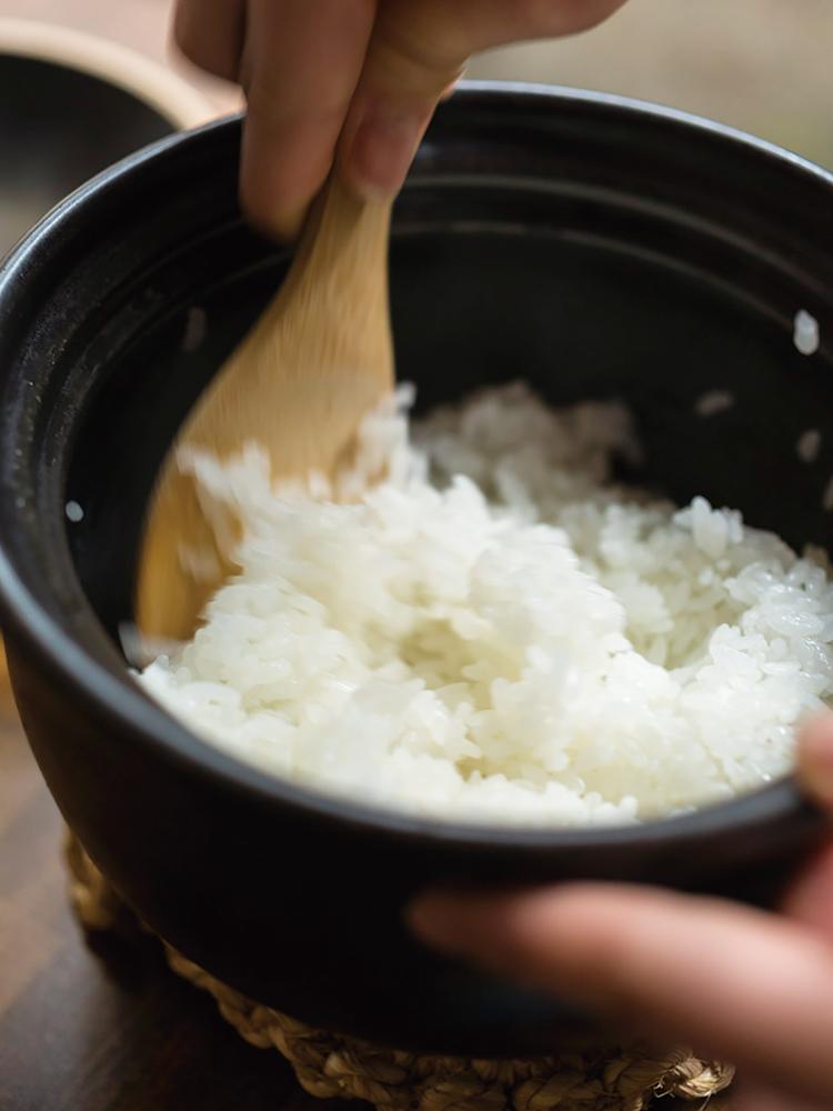 3品目「土鍋白ご飯」
