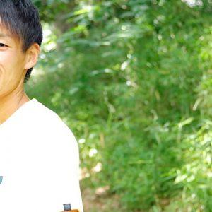 トレイルランニング 上田瑠偉選手 team:コロンビアスポーツウェアジャパン