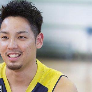 バスケットボール 遠藤祐亮選手 team:リンク栃木ブレックス