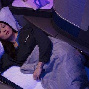 ユナイテッド航空の最新ビジネスクラス・シートを体験してきました!