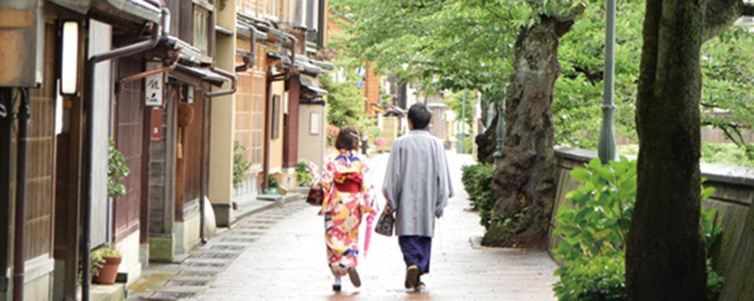 加賀友禅の着付け体験にかわいいカフェ、温泉…金沢の欲張り旅へ。