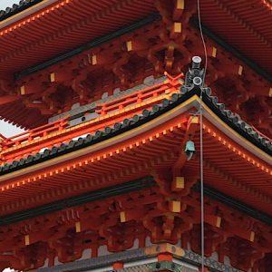 朝のお寺を散策。