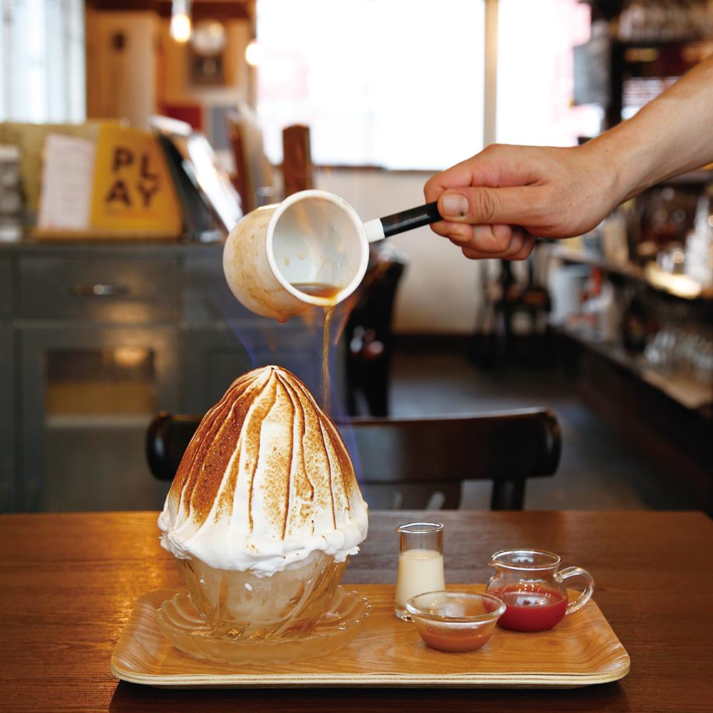 「Lumiere特製焼き氷」(1,300円)