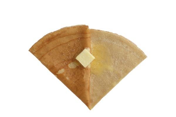 エシレ村産バターとお砂糖のクレープ