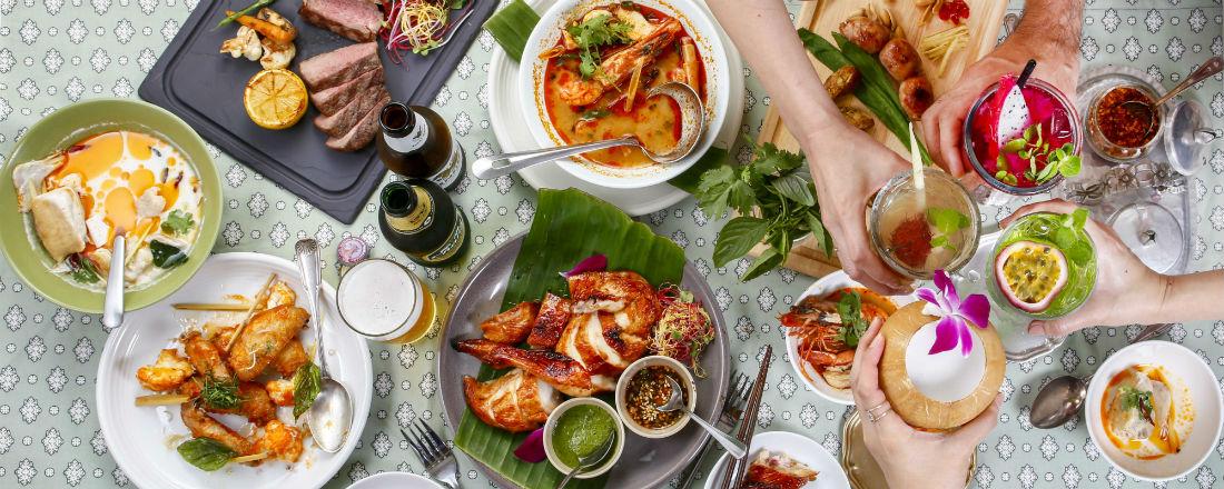 カリフォルニアスタイルのタイ料理店が、赤坂インターシティAIR にオープン