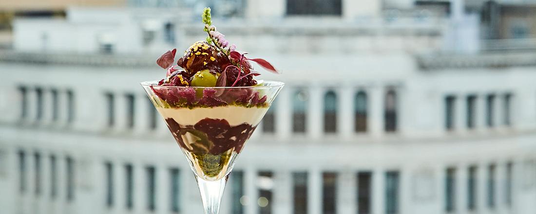 二ツ星シェフのデザートに洗練された飲茶ランチコース…憧れの銀座でプチハレ美食体験。