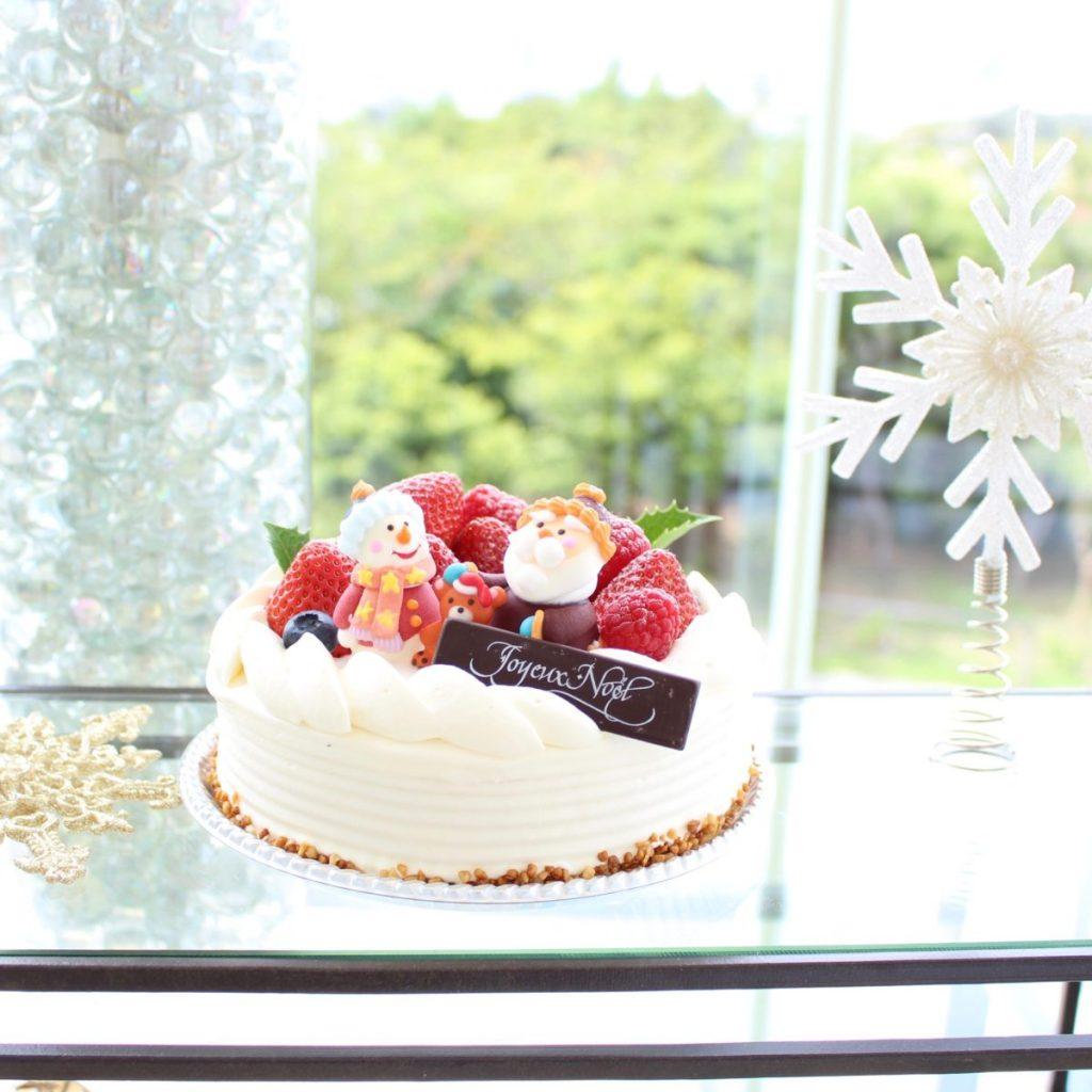 「クリスマスショートケーキ」12cm 3,500円/15cm 4,200円