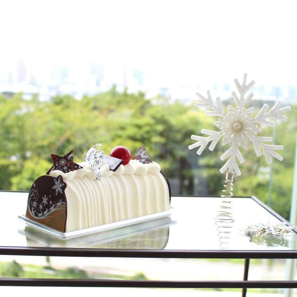 「ブッシュドノエル ゆずとホワイトチョコレート」3,800円