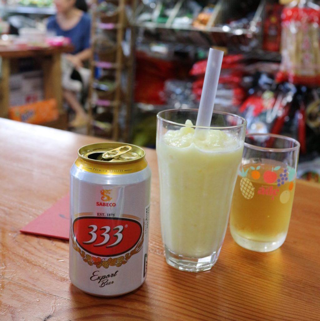 意外とベトナムビールは1種のみ。