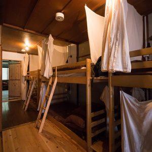2階のドミトリータイプの部屋