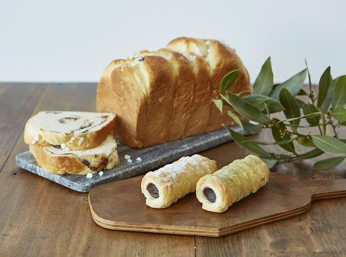 〈M. LE BIHAN〉のパンと〈とらやカフェ・あんスタンド〉のアンペーストが夢のコラボ〜♡