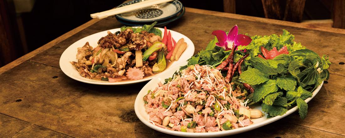 本国お墨付きの味にタイ王室を思わせる空間…ワンランク上のタイ料理店が分かる!