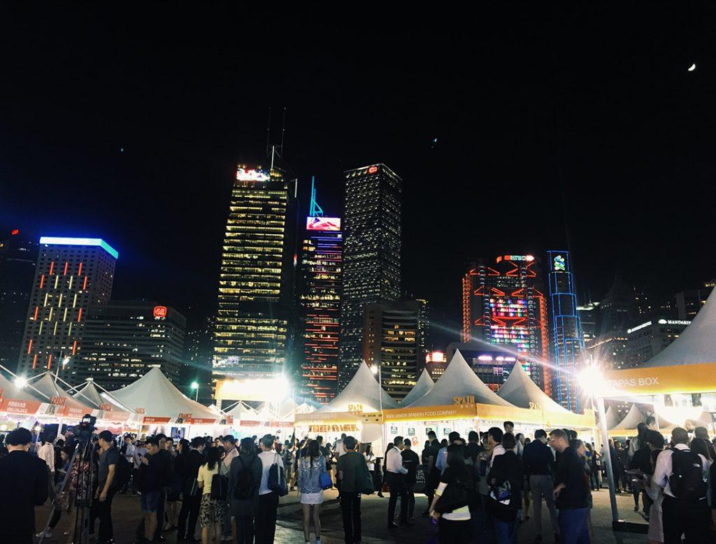 〈香港ワイン&ダイン・フェスティバル〉