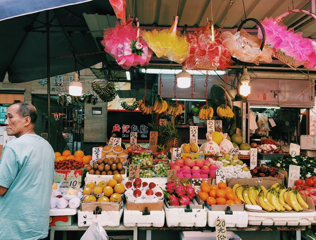 Mong Kok (旺角)のマーケット
