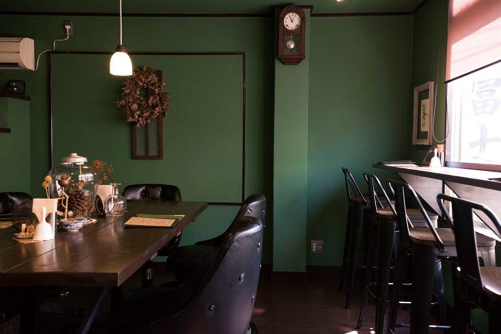 サルトリイバラ喫茶室1