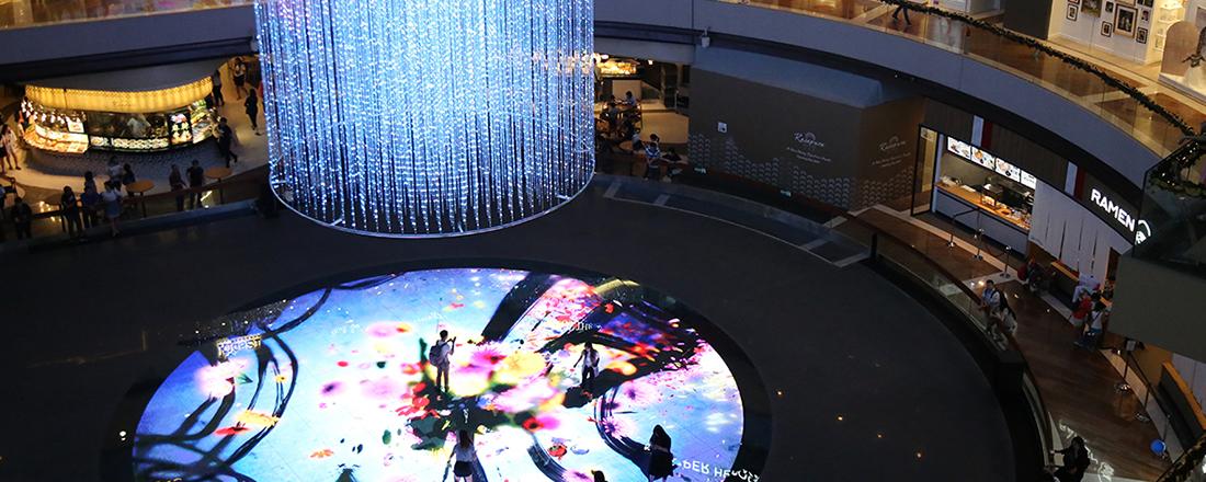 シンガポールの新アートスポット〈Digital Light Canvas〉を大調査。マリーナベイ・サンズにチームラボの新作がお目見え!【元ハナコのシンガポール書簡】
