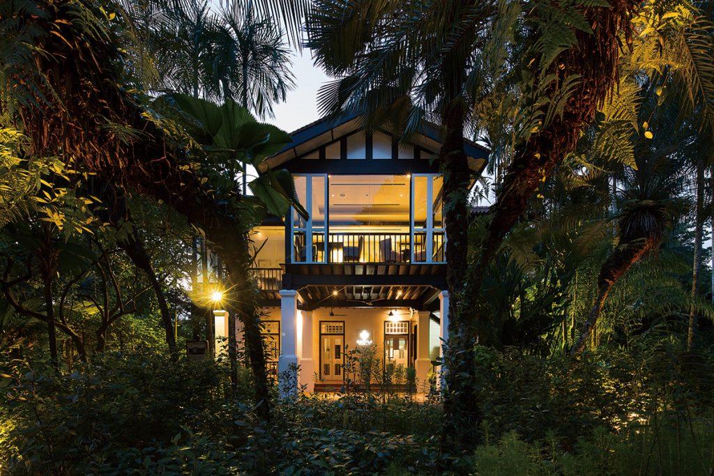 Corner-House-Front-Eveningatari
