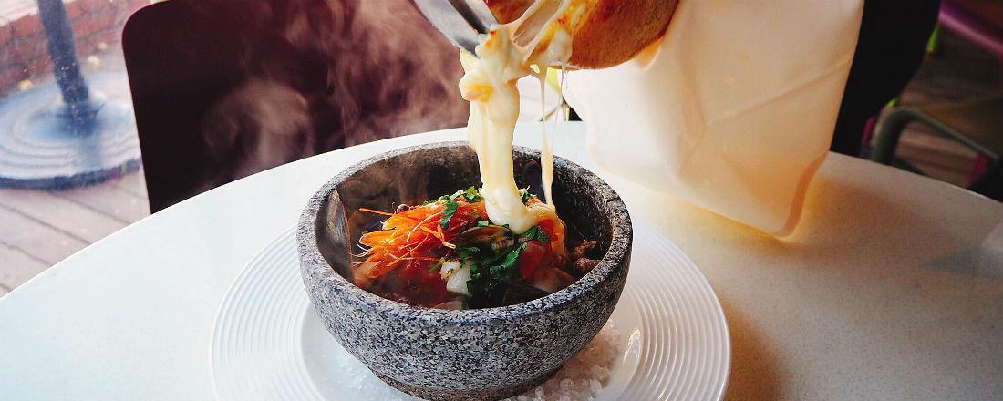 とろ〜りチーズがけ!〈キハチ〉の新感覚リゾットが至福のおいしさ。