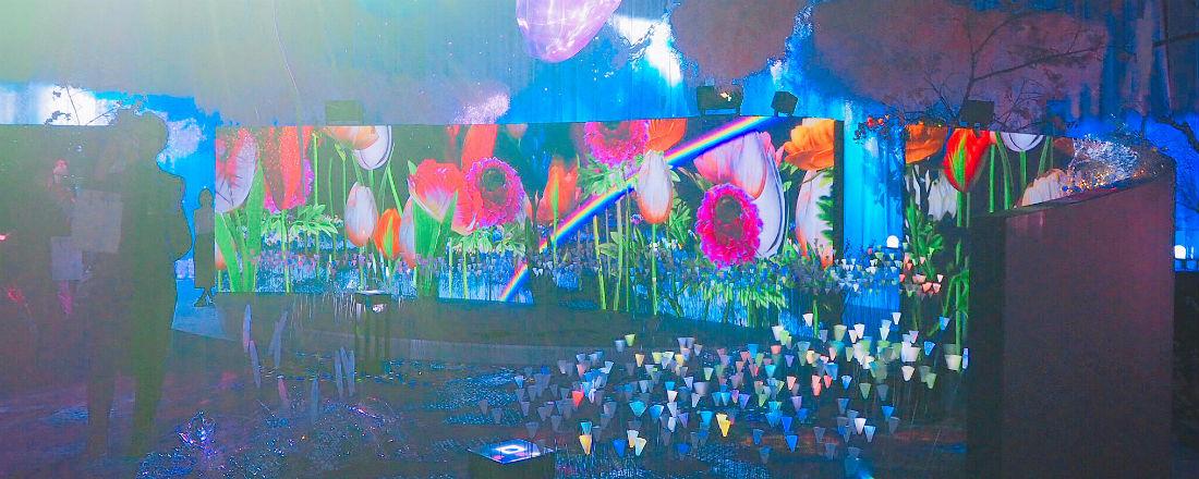 幻想的な世界にうっとり♡花の体験型アート展『FLOWERS by NAKED 2018 輪舞曲』。