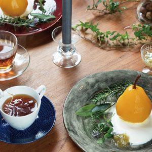 〈TE HANDEL〉の北欧×和な「秘密のお茶会」が素敵過ぎる!
