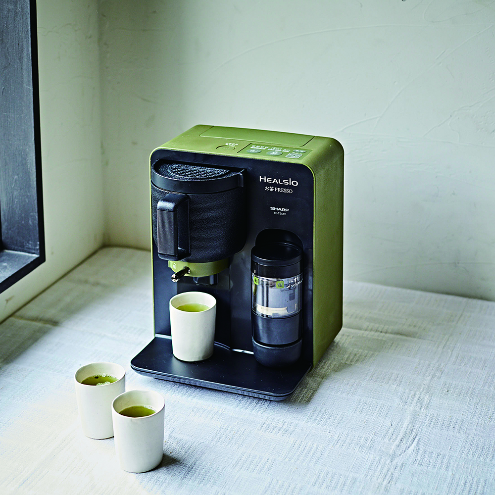 シャープ お茶メーカー「ヘルシオお茶プレッソ」オープン価格