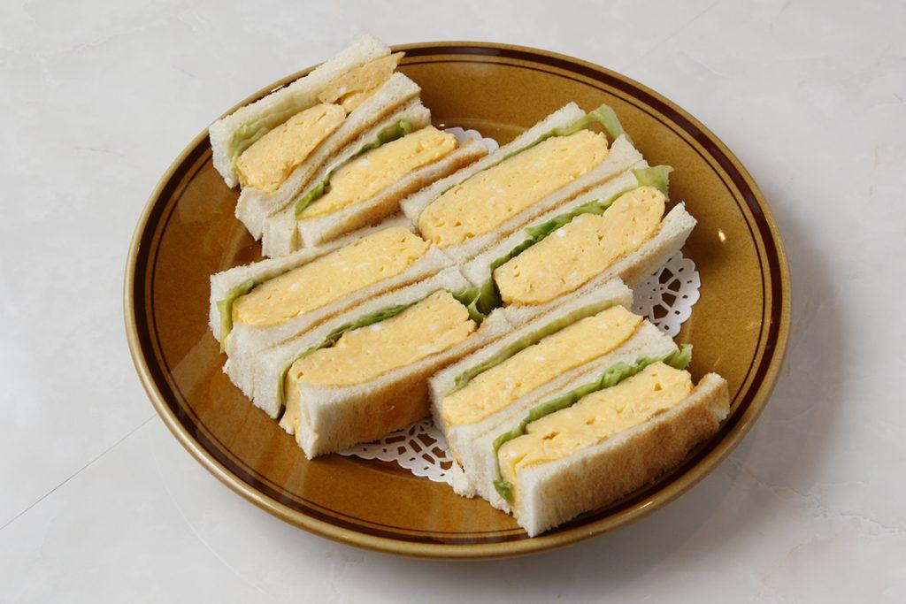 「ホットサンドトーストセット」900円