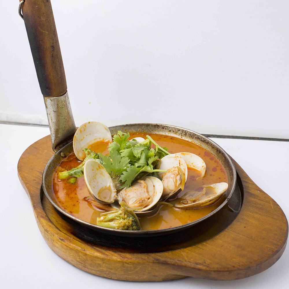 デポ蒸しの味付けのオススメは、トムヤムスープ