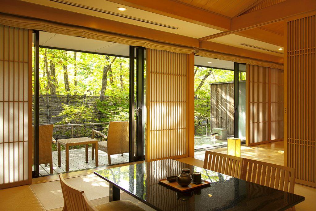 〈竹泉荘 Mt.Zao Onsen Resort & Spa〉/宮城
