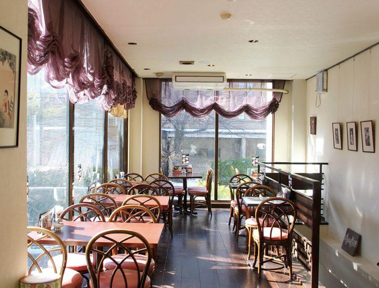 夢二カフェ 港や