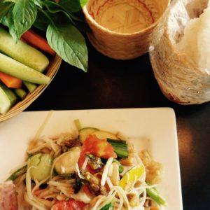 「美人のサラダ」、その名はソンタム。From Thailand