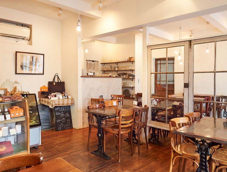 """<span class=""""title"""">Café Lisette 二子玉川店</span>"""