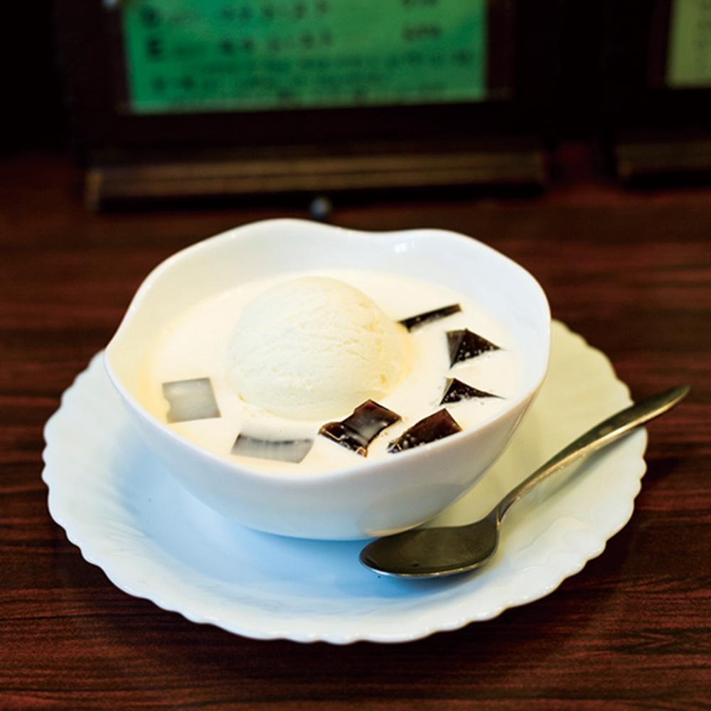 「コーヒーゼリー」420円