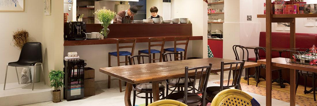 Boutiqueと食堂  パリ・ニューヨーク・トーキョー