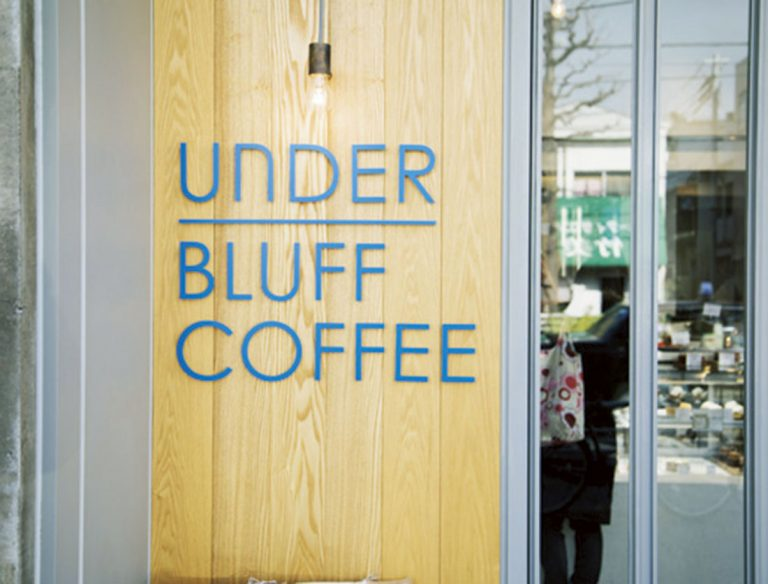 "<span class=""title"">UNDER BLUFF COFFEE</span>"