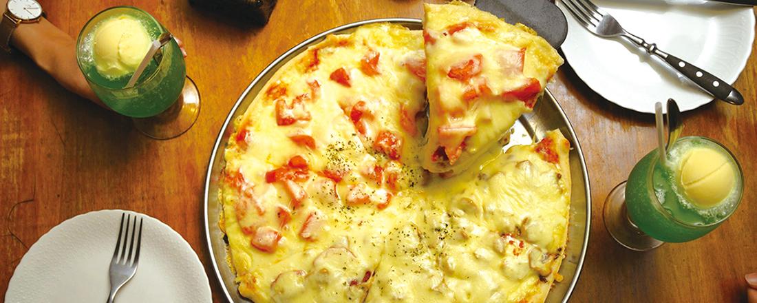 【吉祥寺】チーズたっぷりピッツァ?ハーモニカ横丁のもちもち餃子?ハズせない名店2軒