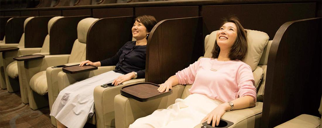 エリア初のプレミアムシアターが〈東京ミッドタウン日比谷〉に!「芸術の街」に登場した映画館のこだわり。