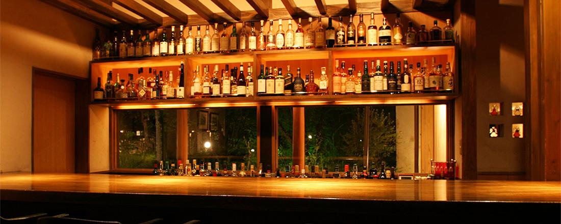 湯上りにしっとり飲める素敵なバーがある。伊豆・湯布院の温泉宿3軒