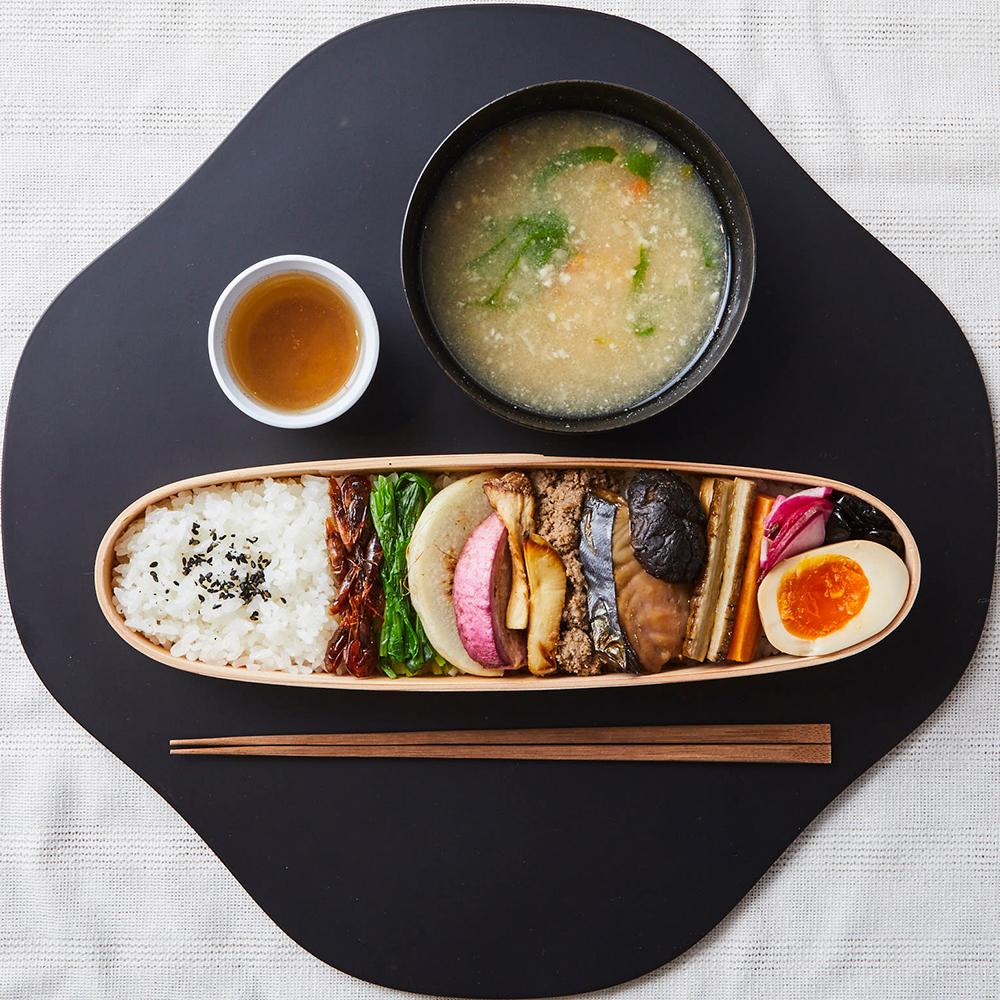 「古来種野菜のお弁当」1,800円