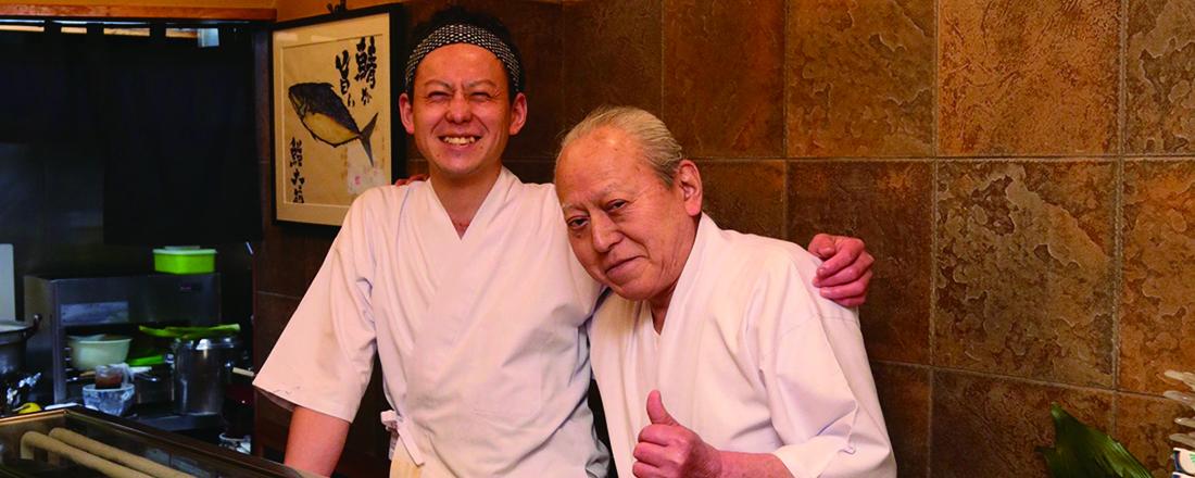 高架下のおいしい名店たち!日比谷で話題の寿司屋&老舗喫茶店が長年愛されるワケ。